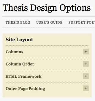 Variation order thesis