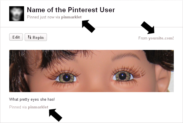 Pinterest Member Perspective - Personalized Dashboard View