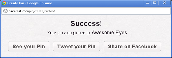 Pinterest Logged-in User Perspective - Step 2