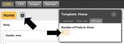 Changing Core Template Posts per Page