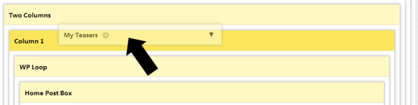 Shift Drag the Query Box into Position