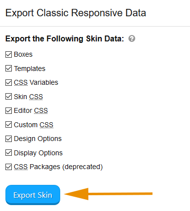 export-skin-options