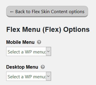 Create custom menu thesis
