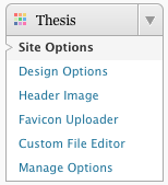 center navigation menu thesis You can also center the menu bar by choosing center alignment and setting an  explicit width for the menu bar the most common menu bar width value would.