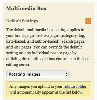 Thesis Design Options - Multimedia Box Options