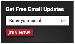 MailChimp Email Signup Form 2
