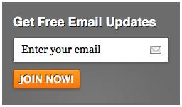 MailChimp Email Signup Form 3