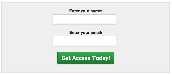 MailChimp Email Signup Form 7