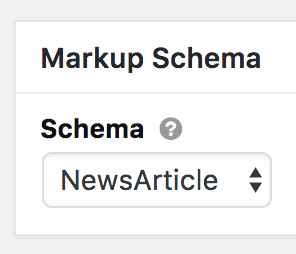 Thesis Schema selector