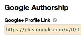 Google Authorship in Thesis